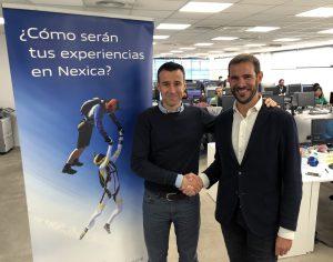 May Peus (izquierda) y Jordi Mas, presidente de la RFEDI y CEO de Nexica respectivamente.