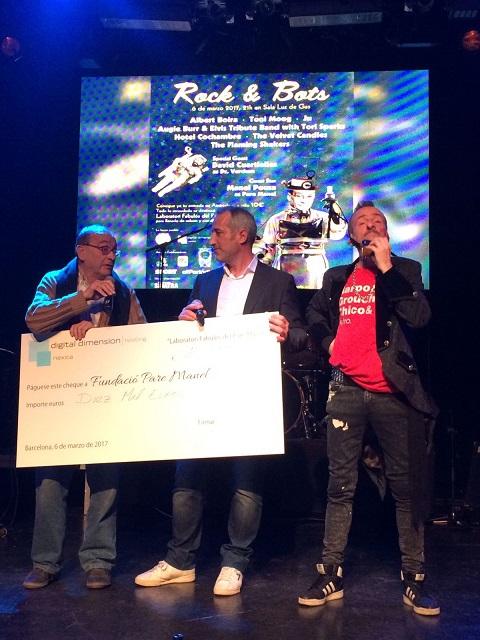 ¡Gran éxito en el evento Rock&Bots con Fundació Pare Manel!