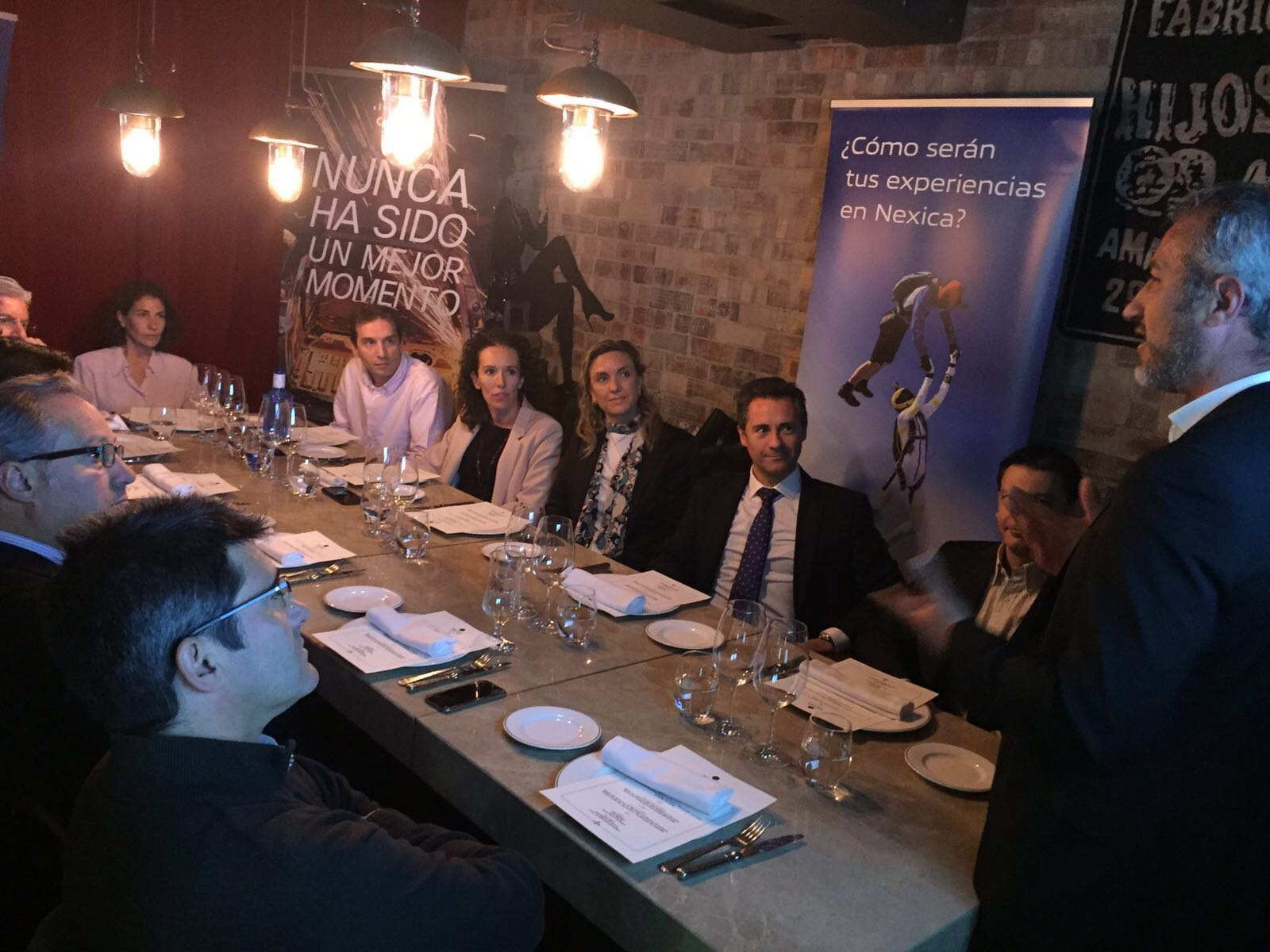 ¡Gran éxito de asistencia en nuestro primer VIP Lunch en Madrid!