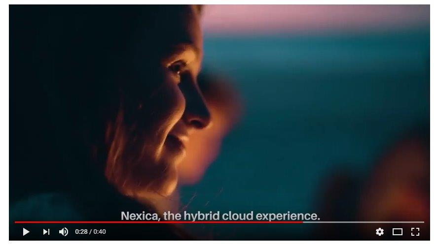 Anuncio Nexica, the hydrid cloud experience