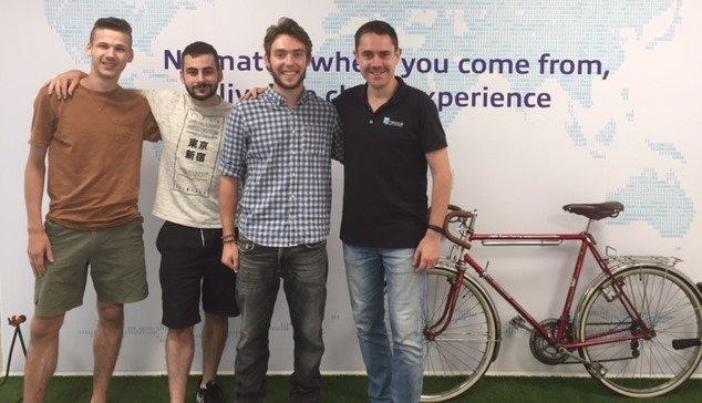 Una año más hemos acogido a dos estudiantes de prácticas internacionales de la Bretaña Francesa en Nexica Barcelona.