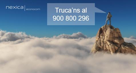 Nou número telefònic de Nexica: 900 800 296