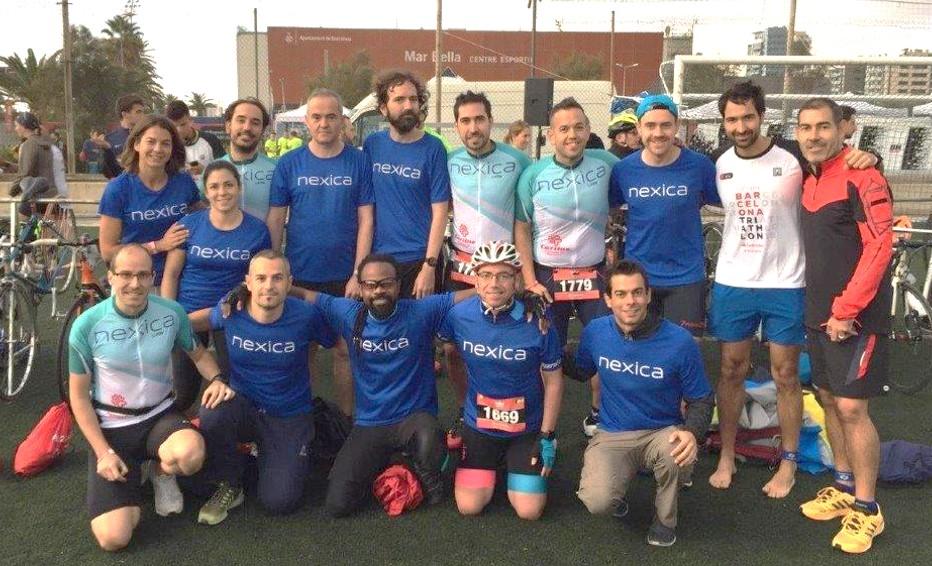 Equip de Nexica Barcelona Triathlon