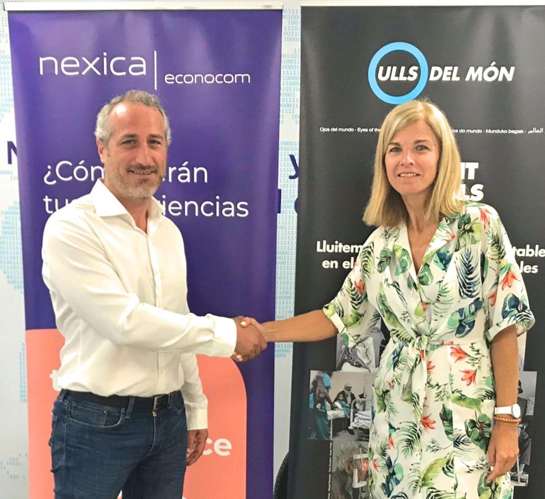 Nexica Econocom y Ojos del mundo renuevan su colaboración