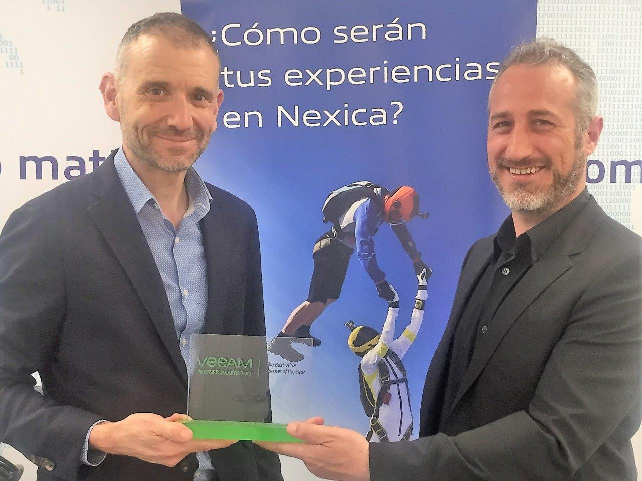 Nexica, premio al mejor Veeam Cloud Service Provider