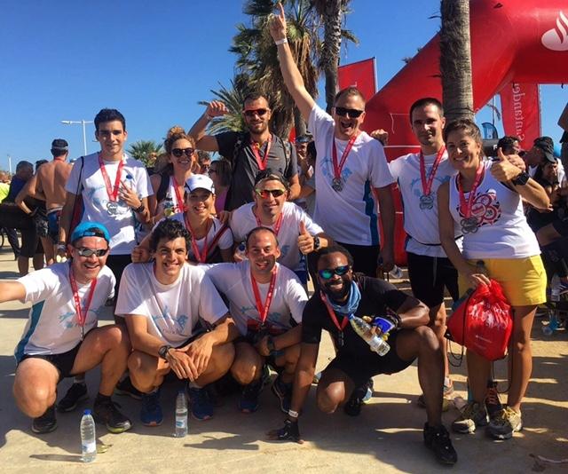 ¡Enhorabuena, atletas! Nexica en la Barcelona Triathlon 2017