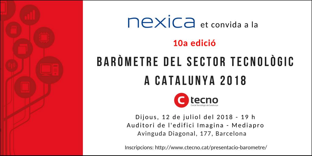 Apúntate a la presentación del Barómetro TIC catalán