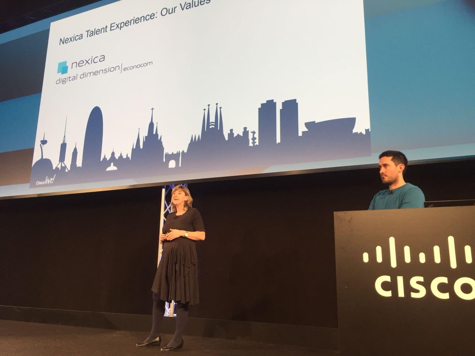 Nexica, en la Cisco Academy de Cisco Live