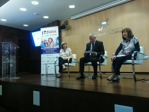 Technology and education at the 2nd Itscool conferences at Palau Macaya