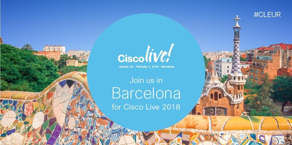 Cisco Live Barcelona
