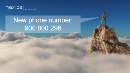 New phone number: 900 800 296